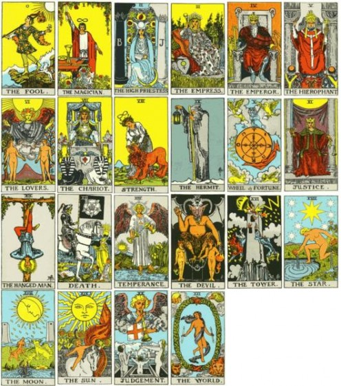 Decoding Tarot Cards Infrastructure - Why tarot cards are NOT ...