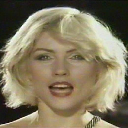 Deborah Harry of Blondie was hot in more ways than one in 1980.