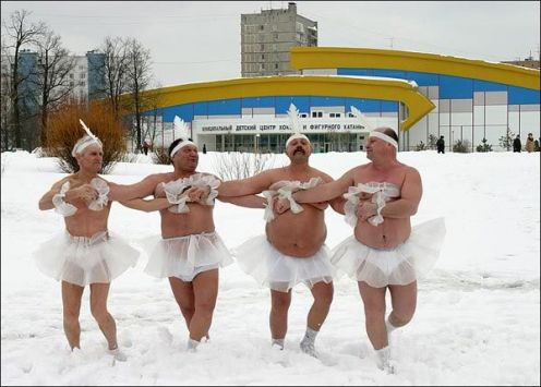 Winter ballet at its finest!