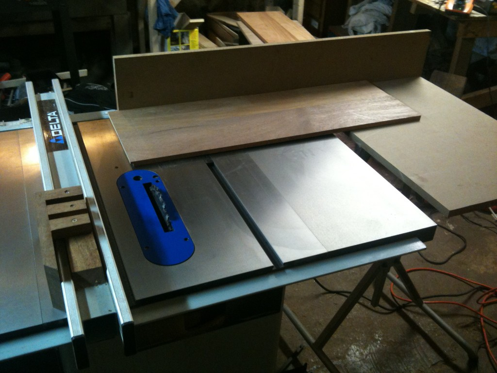 Diy Cross Cut Fence For Table Saw