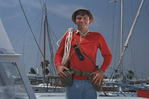Is this a photo of a mighty sailing man named Gilligan?