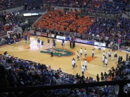 The Gators hold homecourt in the nation's elite conference.