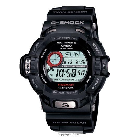 Casio Riseman G-Shock Watch