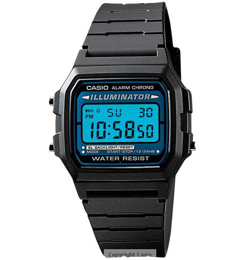 Casio Classic Black Casual Watch