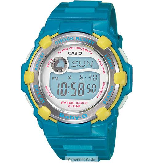 Casio Baby-G Blue Watch