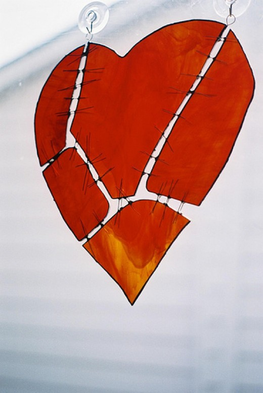 Broken Heart art