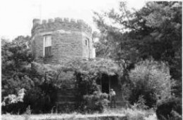 The Cameron Castle, better known as The Captains Castle, in Cameron, Oklahoma.