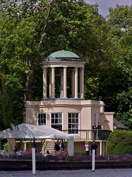 Temple Mount, Henley, where the race starts