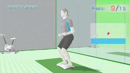 Working out with a Wii trainer in the comfort of your home