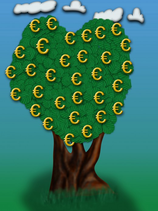 Money doesn't grow on trees, but it can grow in a Dividend Reinvestment Program.  Meg380 Dreamstime.com