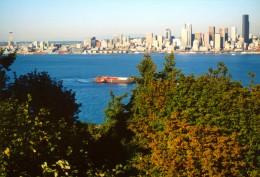 Panorama of Seattle, WA