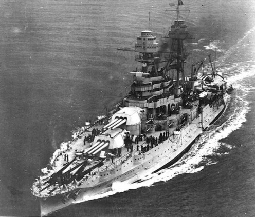 The USS Arizona was a Pennsylvania-class battleship of the US Navy.