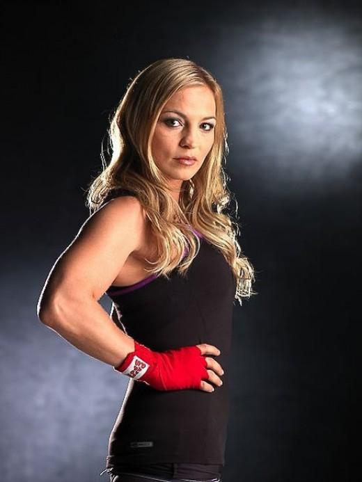 Regina Halmich - Female Boxer