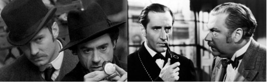 Sherlock Holmes & Dr Watson