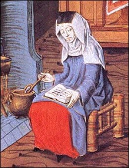Margery Kempe. Image Credit: arizona.edu
