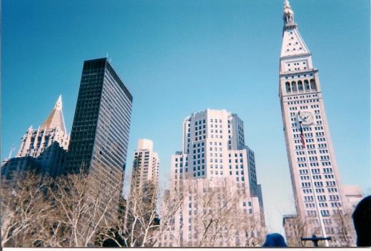 Near ground zero, New York City