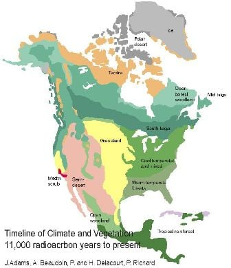MODERN North American Glacial Retreat