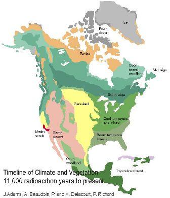MODERN North American Glacial Retreat
