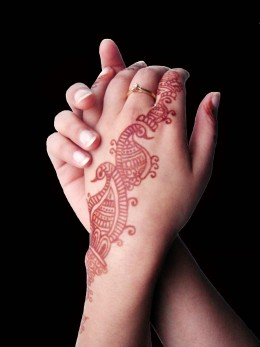 Many temporary tattoos can be chosen from the artist's template, or you can freestyle it.  You can find many temp tattoo ideas online.  There are also many temp tattoos for sale.