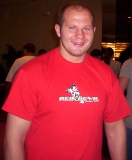 Fedor is the best fighter in the world.
