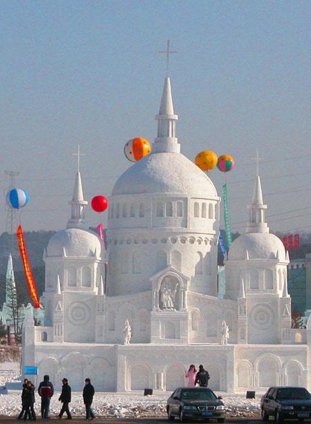 China Harbin Snow Festival