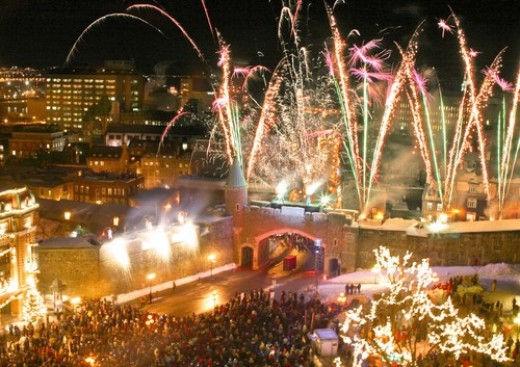 Opening Quebec Snow Festival
