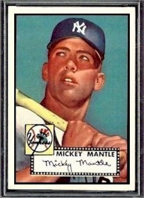 The 1952 Topps Mickey Mantle: The Holy Grail of the baseball card world!
