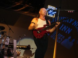 mark farners nrg band perfrms at the slippery noodle