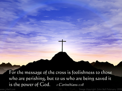 Message of the Cross  Picture from http://www.jrbell.com/room8.html