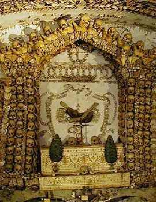 read up on the history of this, the Capuchin Crypt in Rome, Italy - a truly humbling tomb across the street from the Hard Rock Cafe and right up from Bernini Square. These Monks knew themselves, and the value of life. And death. And leaving something