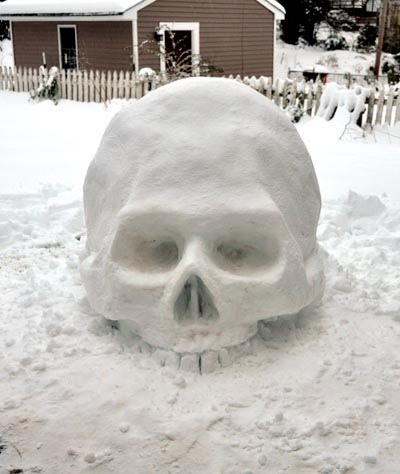 Coolest and Funniest Art Snow Images