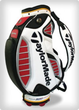 Empty golf bag