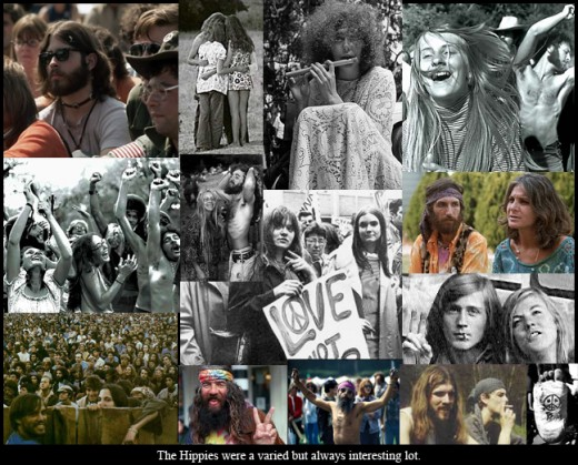 THE HIPPIES OF OLD TOWN CHICAGO