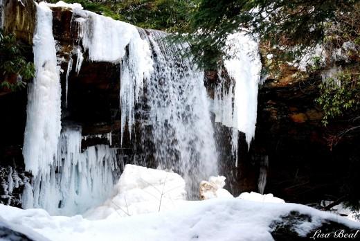Cucumber Falls,in Ohiopyle State Park.