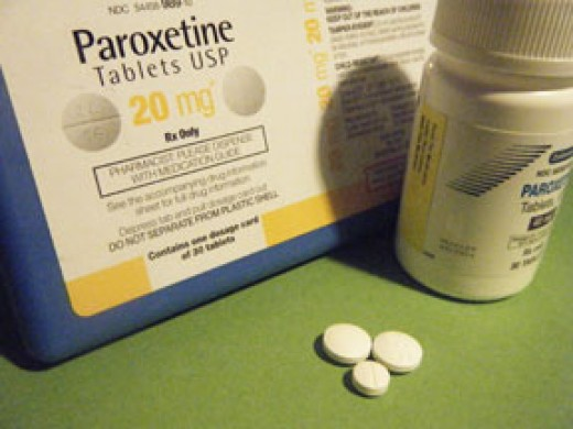 Paxil (Paroxetine) 40 mg & 20 mg