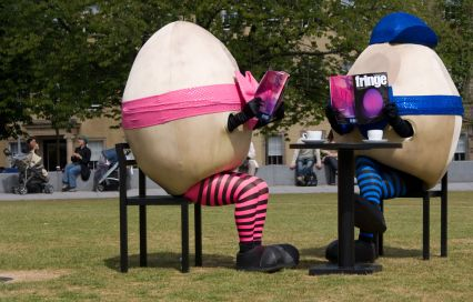 Fringe Eggs