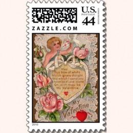 Cupid and Poem Postage