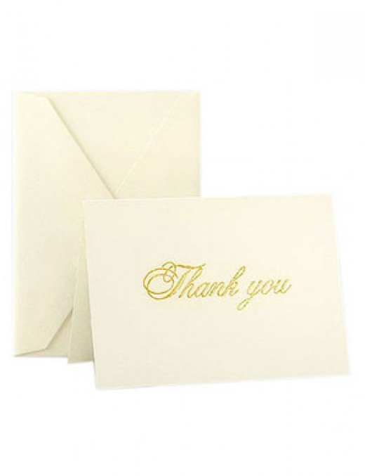Express your appreciation with thank you notes like these from Crane's