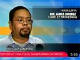 COMELEC Spokesman James Jimenez