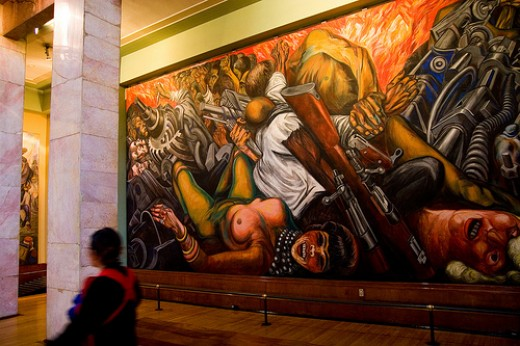 Jose Clemente Orosco, Cartharsis, Pallacio de Bellas Artes, Mexico City