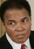 Muhammad Ali, with Parkinson's disease in his senior years