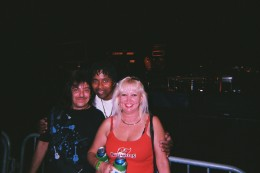 Tina and I with Hubert(H-Bomb)Crawford