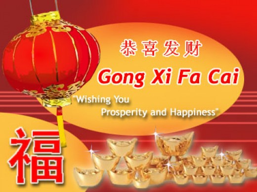 Chinese New Year Comment or Greetings