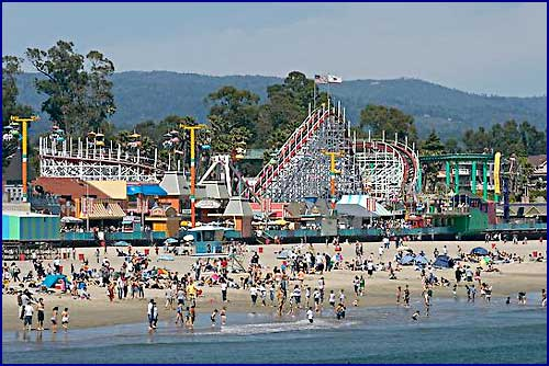 Santa Cruz Beach and Boardwalk, California