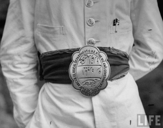 Nizam`s Guards Buckle