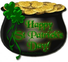 Here's hoping you find your pot o gold!