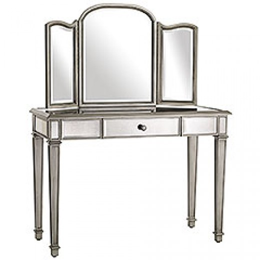 gallery for jcpenney mirrored vanity table