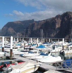 Los Gigantes means the Giants of the Canary Islands