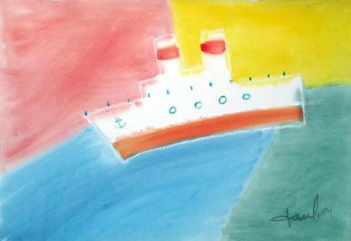 Painting, Sea Theme