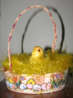 How To Make An Easter Basket; Woodburning Step by Step Instructions and Ideas